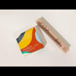 Bundle of Vesca highlighter & Zoeva lipstick